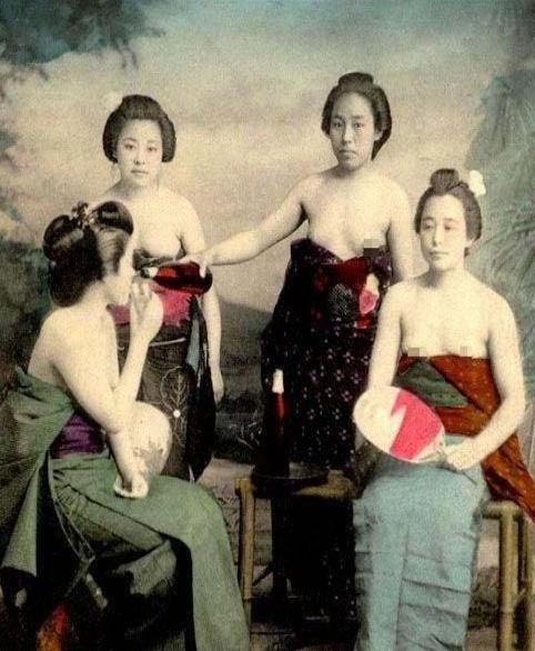 日本高级军妓私密照曝光;;