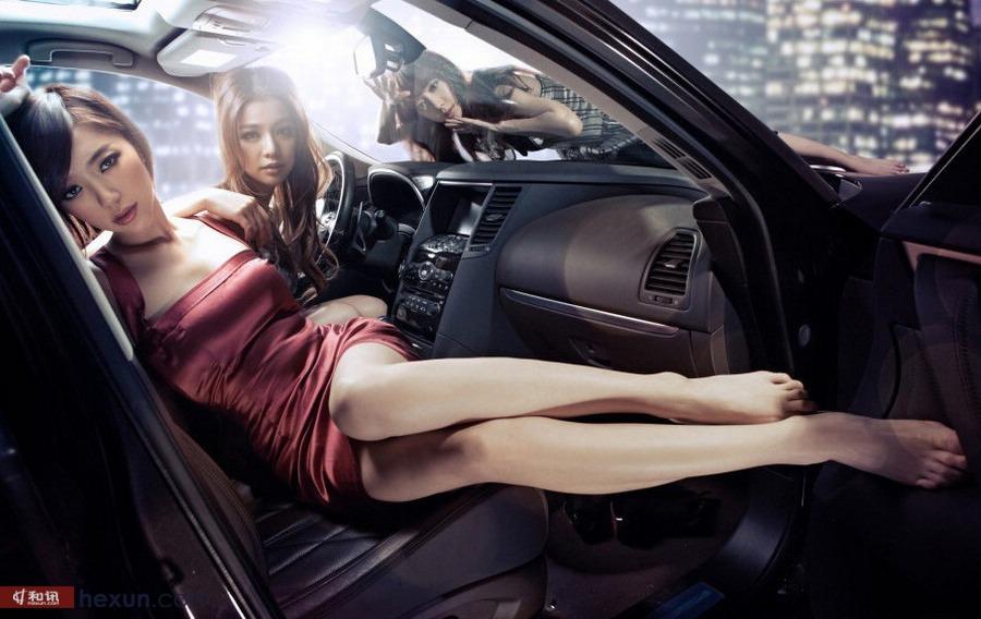 速度与激情展现唯美车模 汽车频道