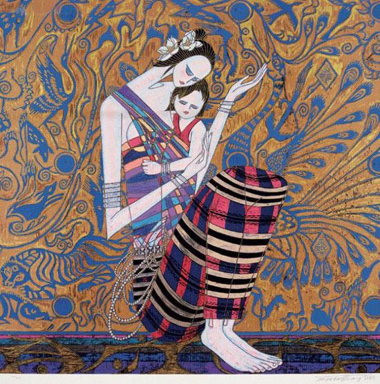 云南现代重彩画欣赏(组图)