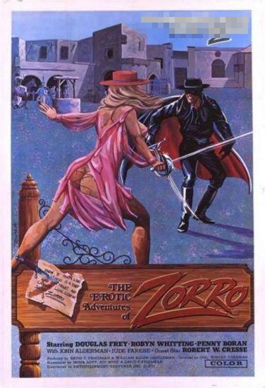 欧美早期成人电影海报(组图)