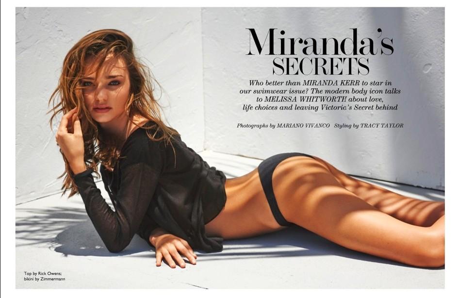 超模米兰达-可儿夏日泳装性感大