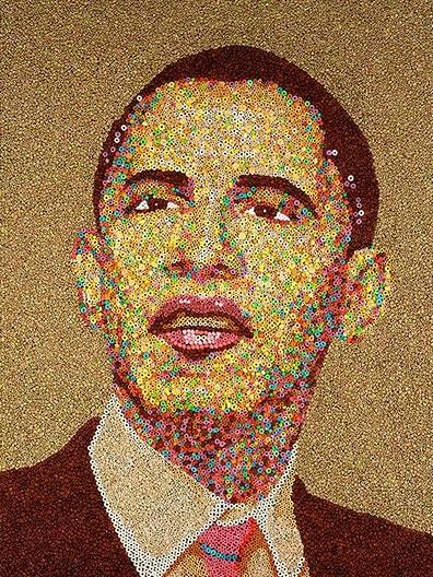 美国总统奥巴马头像