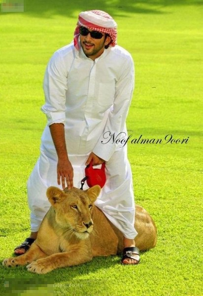 迪拜贵族住宫殿养老虎的奢靡生活