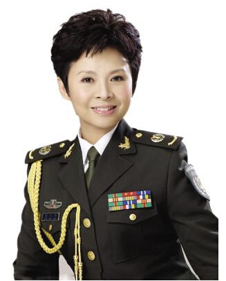 山西籍军旅女歌手_谭晶成最火军旅歌手图片