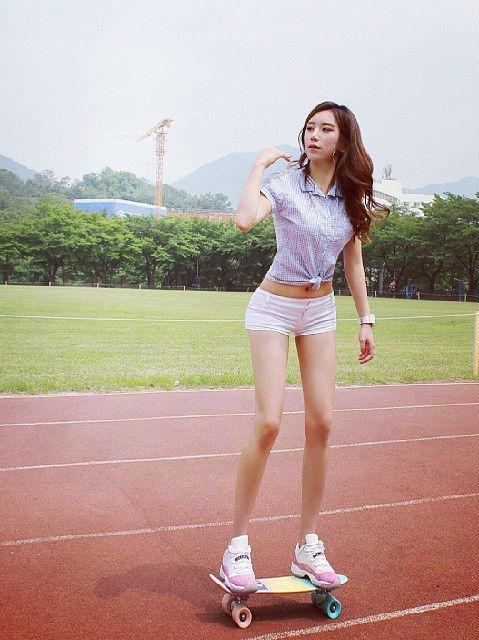 韩国美女健身教练因完美身材走红网络